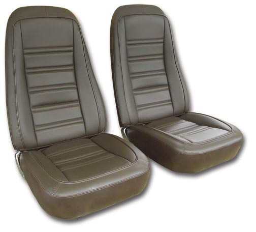 1977 Corvette Leather Vinyl Seat Covers