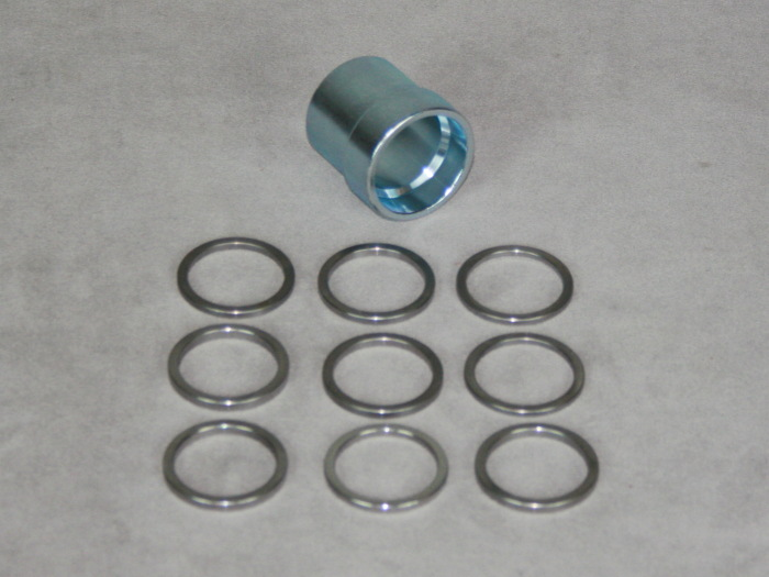 1963-1982 Corvette Rear Wheel Bearing Shim / Spacer Kit 1